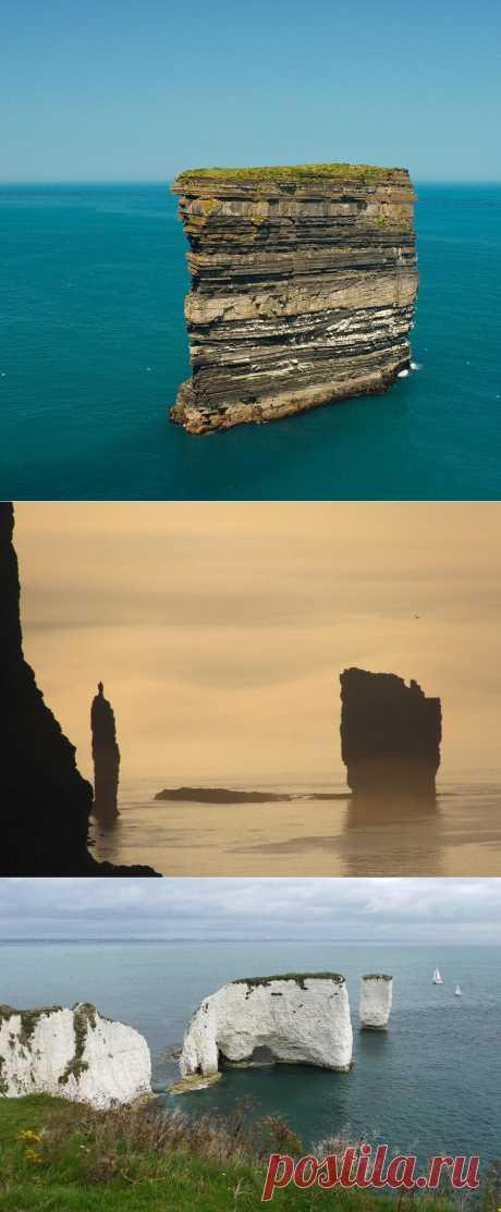 Самые красивые и необычные морские скалы : НОВОСТИ В ФОТОГРАФИЯХ