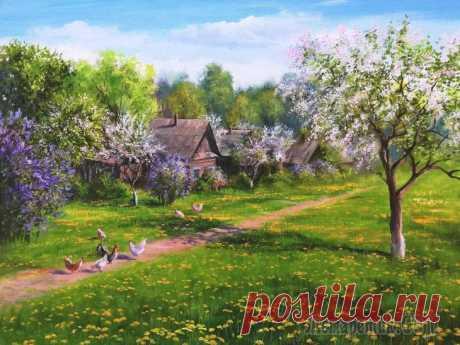 Пишу душой и для души. Тамара Масленик Родилась в Беларуси в 1973 году. Не имею художественного образования. В детстве мечтала стать художником, но жизнь распорядилась иначе. Начала заниматься живописью только 7 лет назад. Пишу все, что ок...