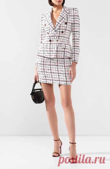 Женская бордовая юбка ALEXANDRE VAUTHIER — купить за 68450 руб. в интернет-магазине ЦУМ, арт. 201SK1209 0201-1204