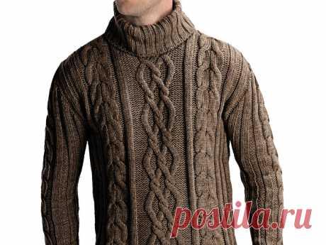 Мужской свитер с косами согреет в любую погоду Теплый, свободный, комфортный и мягкий – все эти эпитеты отлично подходят зимним свитерам. Давно полюбившийся фасон - вязаный мужской свитер с косами приобретает сегодня все большую популярность. С такими объемными и одновременно модными элементами свитер будет в моде всегда. Крупная вязка или мелкая, короткий или немного удлиненный вид, пастельные или более насыщенные тона, свитер поперечными косами или продольными завоевывае...