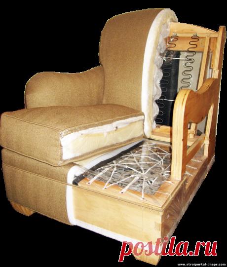 Ремонт и перетяжка мягкой мебели - 2 Сентября 2019 - Прораб Днепропетровщины
