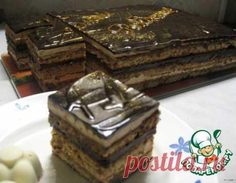 """Торт """"Опера"""" – кулинарный рецепт"""