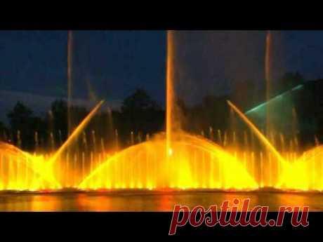 Las fuentes que cantan en Vinnytsia 2012 (toda la representación)
