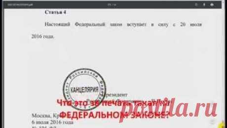 Как я проверил подписывает ли законы президент РФ?