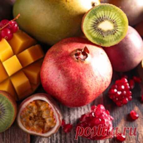 Непривычные, прекрасные сочетания с экзотическими фруктами - 27 рецептов | Подборка рецептов на koolinar.ru