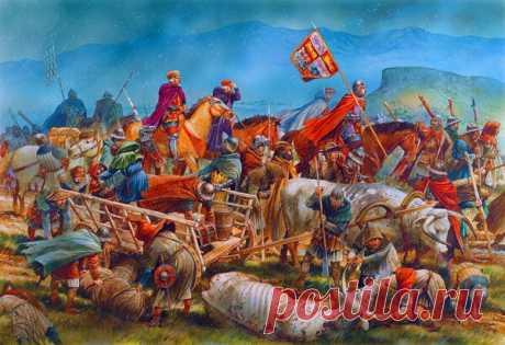 Главный беспредел Столетней войны - жестокие шевоше   Исторические Сражения   Яндекс Дзен