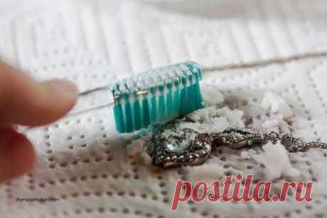 Чистка серебра в домашних условиях – Ярмарка Мастеров