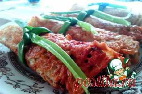 Драники-рулеты с грибной начинкой - кулинарный рецепт