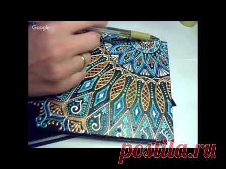 Perevalova Ekaterina Ezhednevnik la pintura-punteada 05.09.17