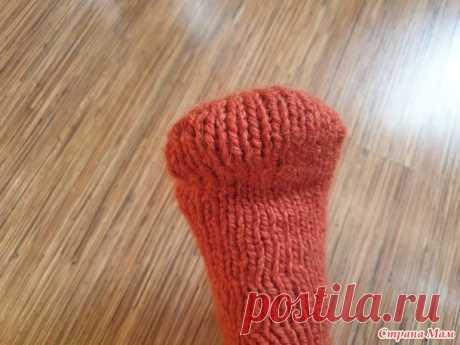 """Вяжем мысок носка """"Бумеранг"""" - Вязание - Страна Мам"""