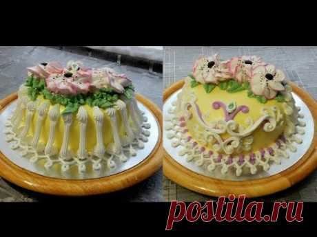 DECORATION of CAKES - Cake the Doughnut of 24 cm, Cake decoration