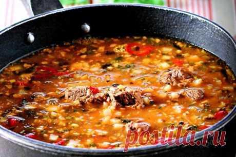 Как приготовить суп харчо: быстрый рецепт 🚩 Кулинарные рецепты