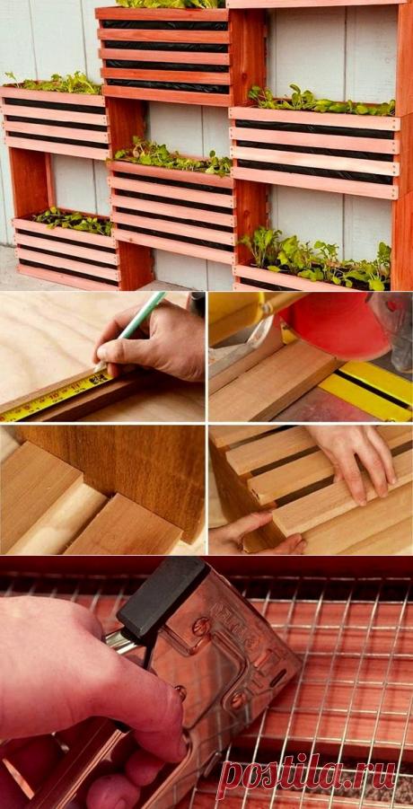 Вертикальное озеленение для сада и дачи своими руками | 33 Поделки | Яндекс Дзен