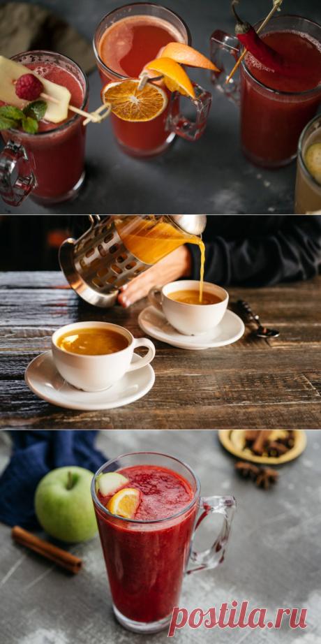 Ягодный чай: 5 рецептов напитков, которые помогут согреться