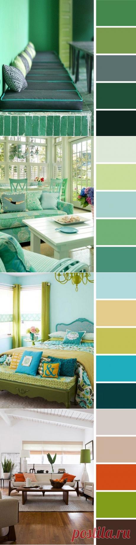 Сам себе дизайнер: 20 идеальных цветовых схем для интерьера — Полезные советы