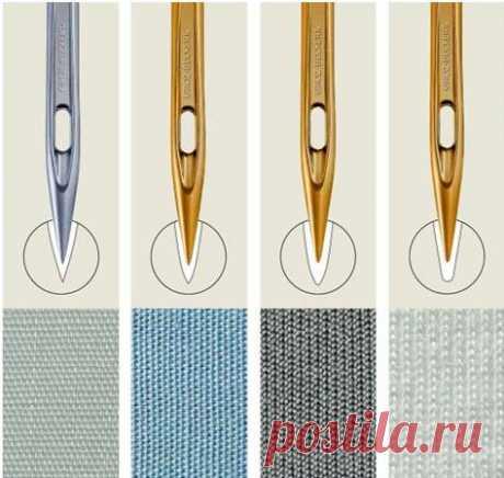 La aplicabilidad de las agujas para las máquinas de coser.
