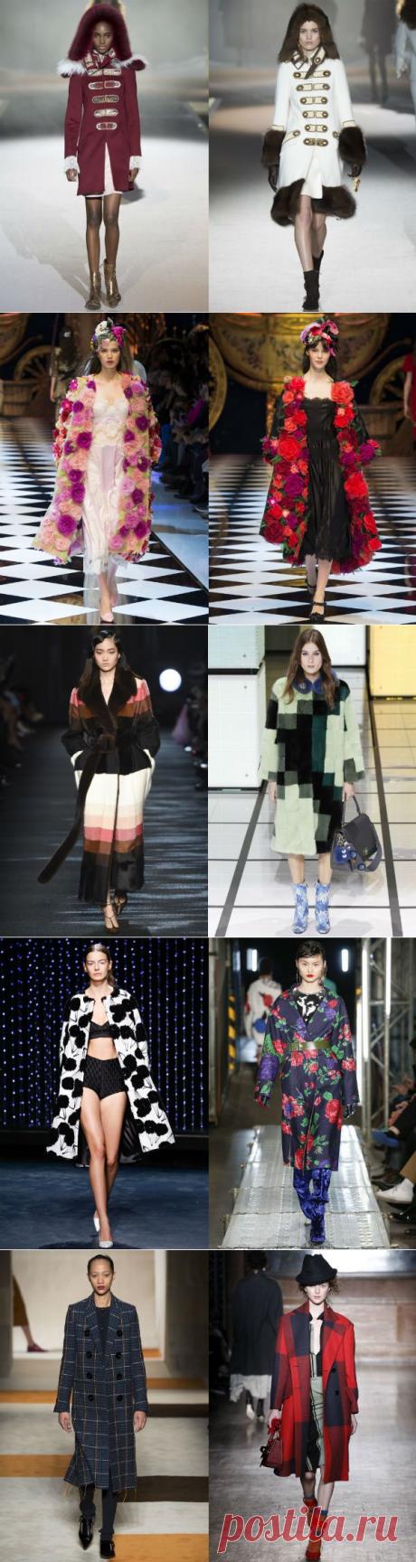 Пальто женское 2017: выбираем актуальные модели - Ladiesvenue