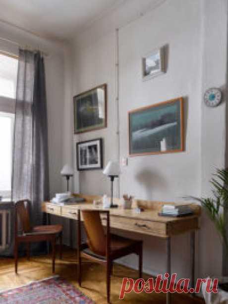 Квартира декоратора Юлии Голавской в Москве, 80 м²
