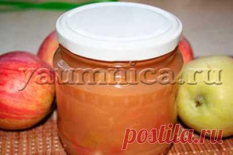 Вкусный рецепт яблочного варенья