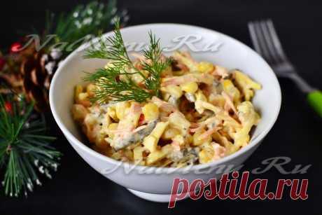 Салат из говяжьей печени, рецепт с фото