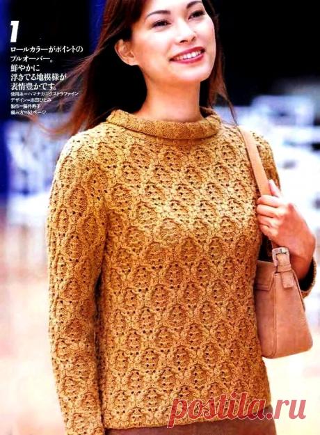 Модели связанные спицами по японским схемам | Вязать легко/knitting | Яндекс Дзен