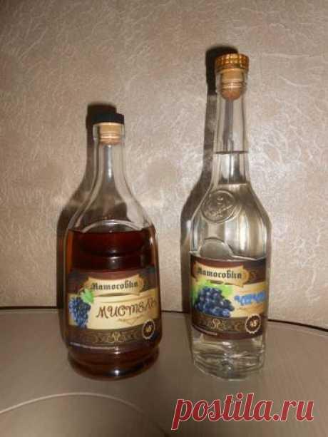 Рисовая водка,виноградное бренди промежуточное видео