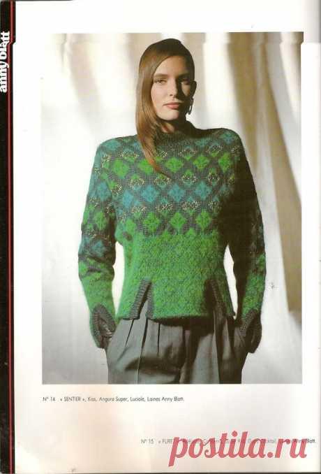 MAGAZINE ANNY BLATT N°103 tricot AUTOMNE - HIVER