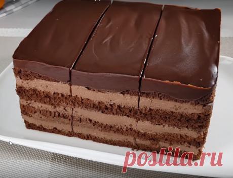 Супершоколадный торт - Коллекция замечательных рецептов