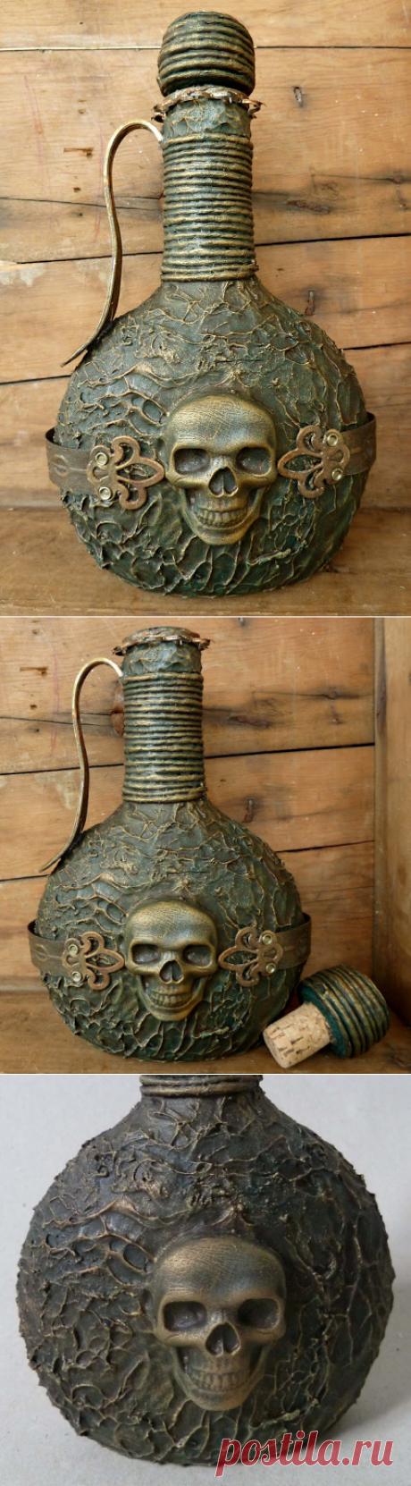 Ideas Creativas y Practicas:  DIY  Botella Pirata (Reciclaje)