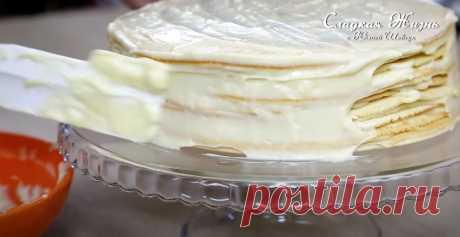 Заварной крем для торта - Рецепты Simple Food Заварной крем для торта. Идеальный и надёжный рецепт любимого крема для тортов, пирожных и разных десертов, который получится у всех!