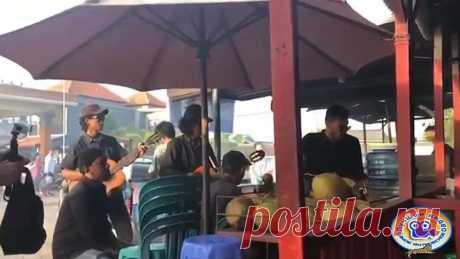 Тем временем на Бали во время прогулки услышал это......это ..ж...Кукушка