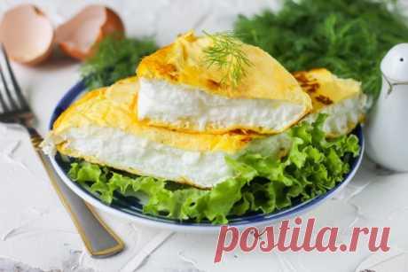 """Воздушный омлет """"Пуляр"""" – быстрый завтрак на сковороде – Главное СМИ"""