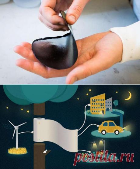 «Энерго бумага» хранит электроэнергию и перезаряжается за секунды - Экологический дайджест FacePla.net