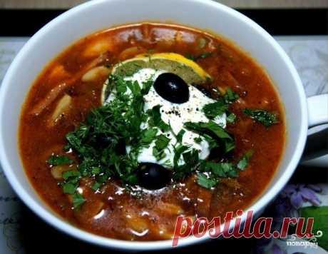 ¡10 mejores recetas de la solianka con el embutido!