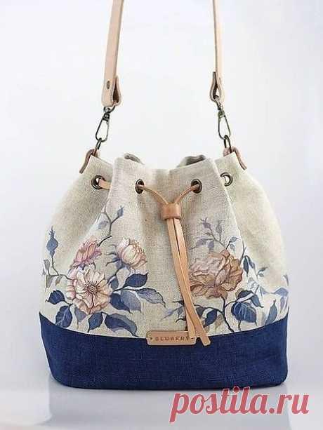 Шьем сумочку-рюкзачок (Шитье и крой)
