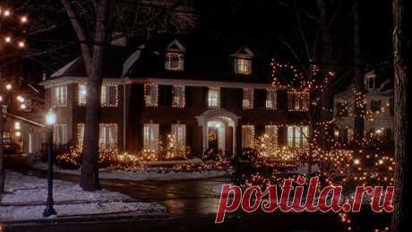 Интерьер дома Маккалистеров из фильма Один дома.