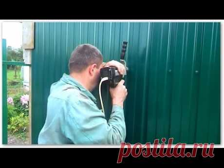 How to fix a professional leaf on a fence. ✔