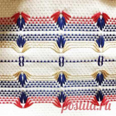 Редкий вид рукоделия – шведская вышивка (мастер-класс и идеи)   Рукоделие