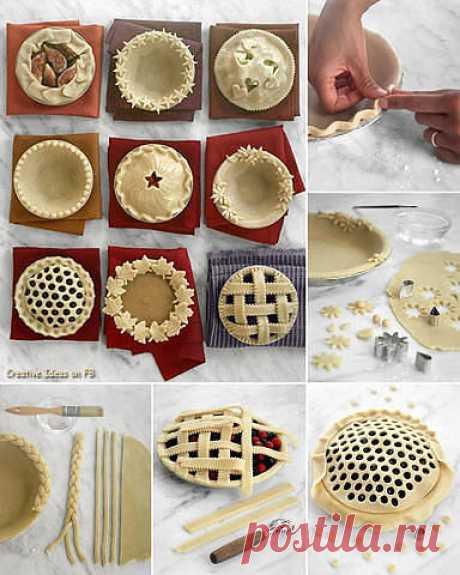 Оформление красивой выпечки- 14 великолепных идей!