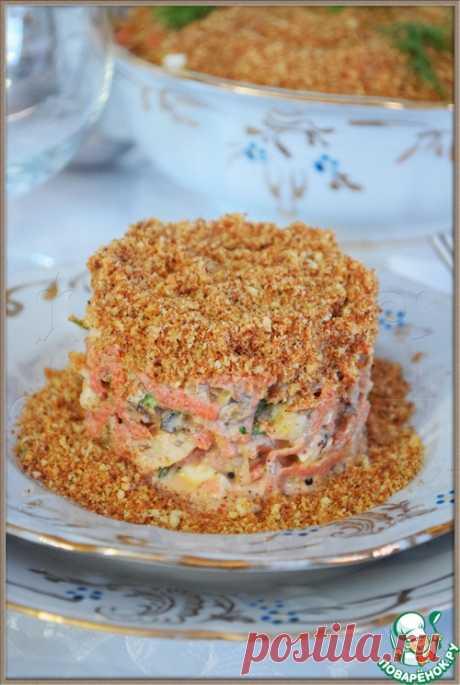 """Салат """"Крошка"""" - кулинарный рецепт"""