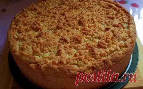Яблочный пирог за 30 минут: самый простой и бюджетный рецепт, где начинки больше, чем теста Яблочный пирог получается очень сочным. Тесто быстро и просто готовится, не требует раскатки. Ингредиенты: мука – 500 г яйца – 2 шт. сахар – 100-150 г подс...