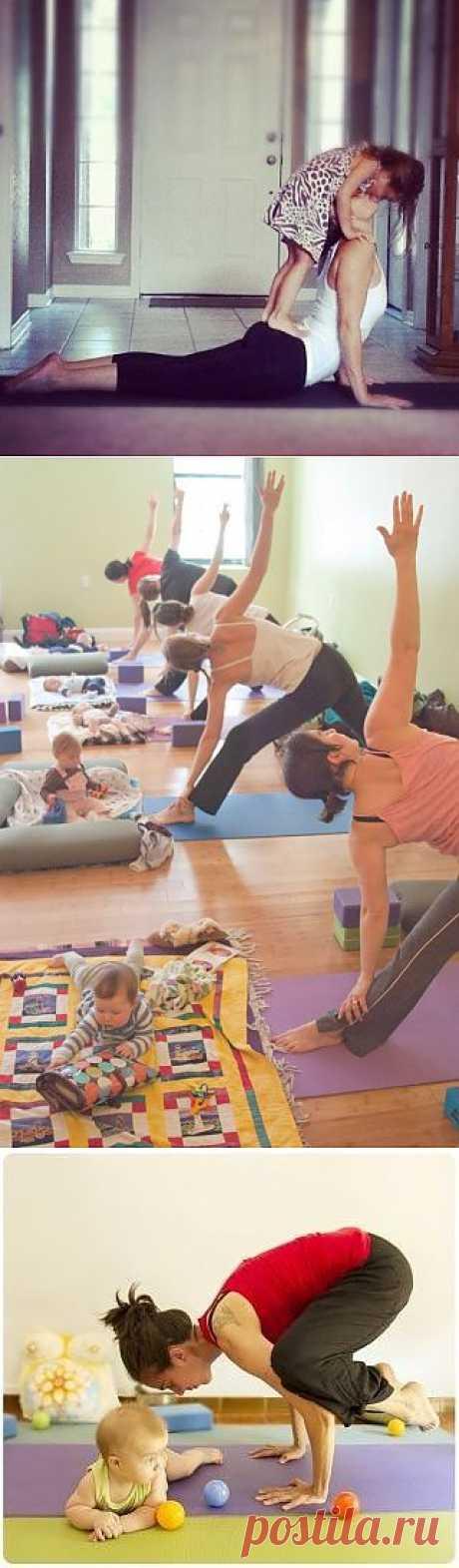 Йога вместе с детьми « Sunniest.ru