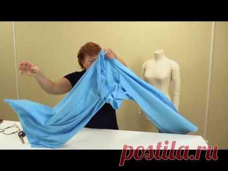 Как сшить кюлоты Выкройка от юбки полусолнце Моделирование и раскрой кюлотов своими руками Часть 2 - YouTube