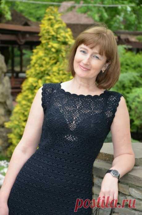 Маленькое черное вязаное платье и много много кофточек | razpetelka.ru