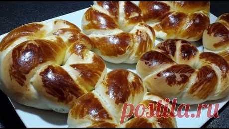 "Турецкие булочки-Ачма(Açma) Turkish bread rolls ""Achma"""