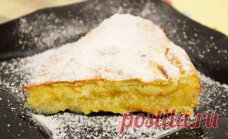 Очень нежный ЛИМОННЫЙ пирог с ЧУДО вкусом