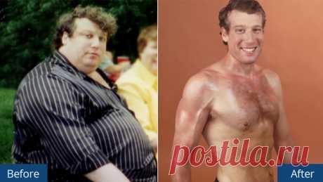 Он похудел на 100 кг без диет, при помощи 7 правил, которые вывел самостоятельно