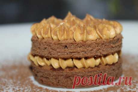 Кофейное пирожное!!! Автор: Светлана Голубева