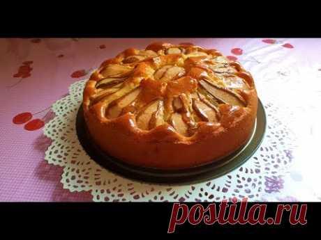 Пирог с Грушами -Мягкий и ароматный
