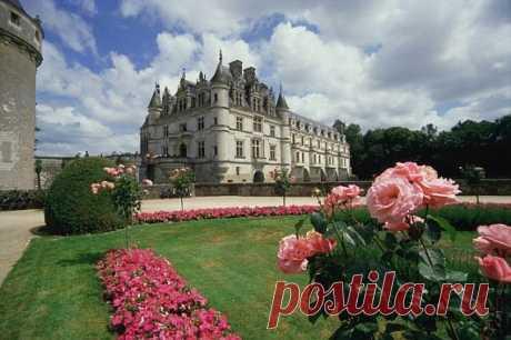 Замок Шенонсо, Франция - Путешествуем вместе